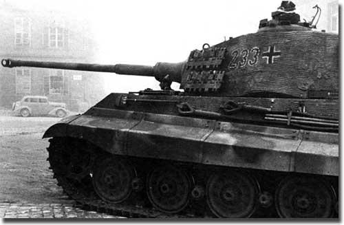 Тяжелый танк КОРОЛЕВСКИЙ ТИГР
