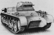 Легкий танк Pz.I (Т-I)