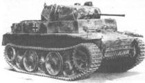 Легкий танк Pz.II (Т-II)